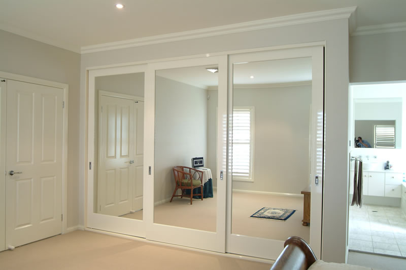 Bedroom cabinets with sliding doors